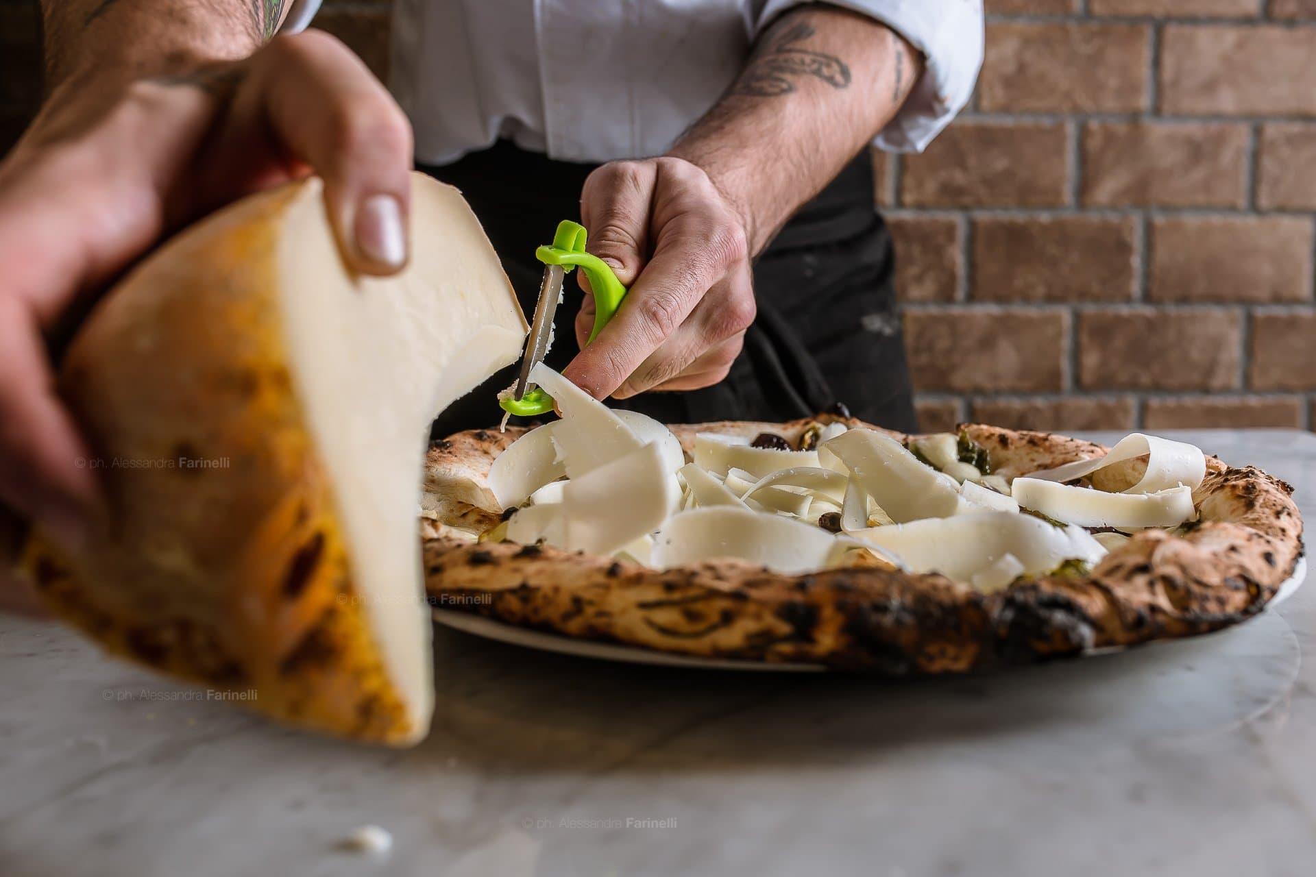 fotografia di pizza