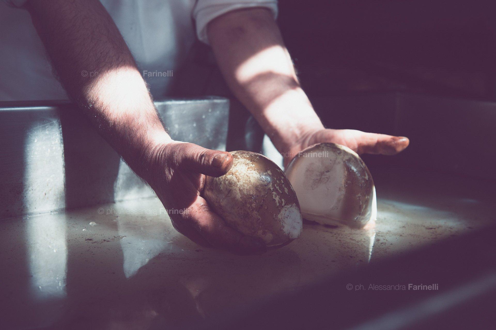 foto mozzarella affumicata
