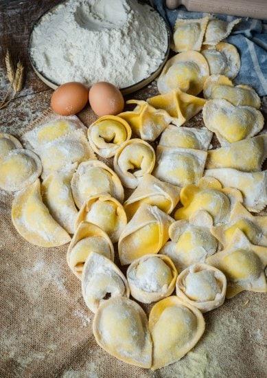 Shooting pasta fresca