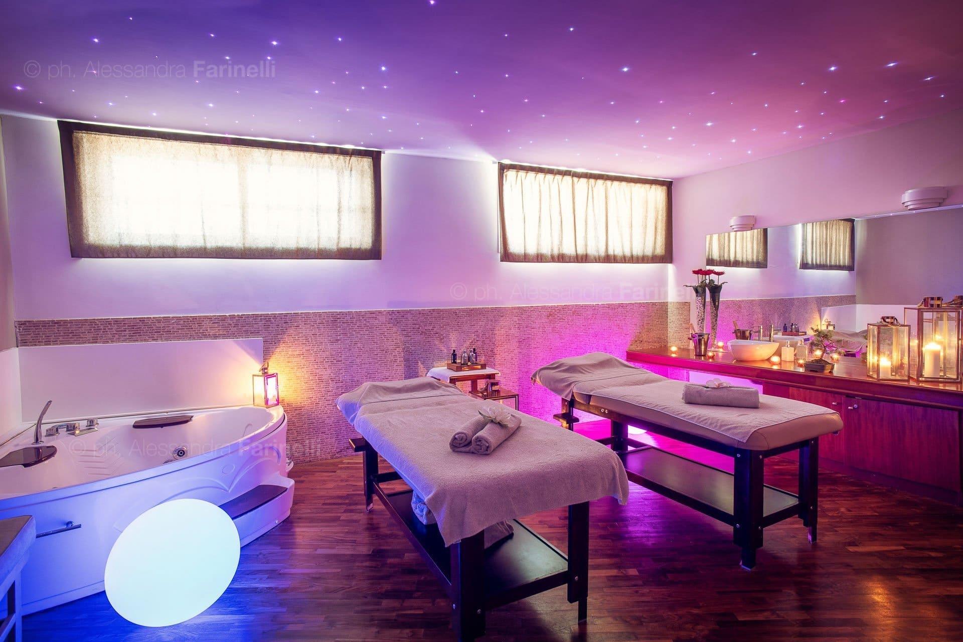Foto sala massaggio