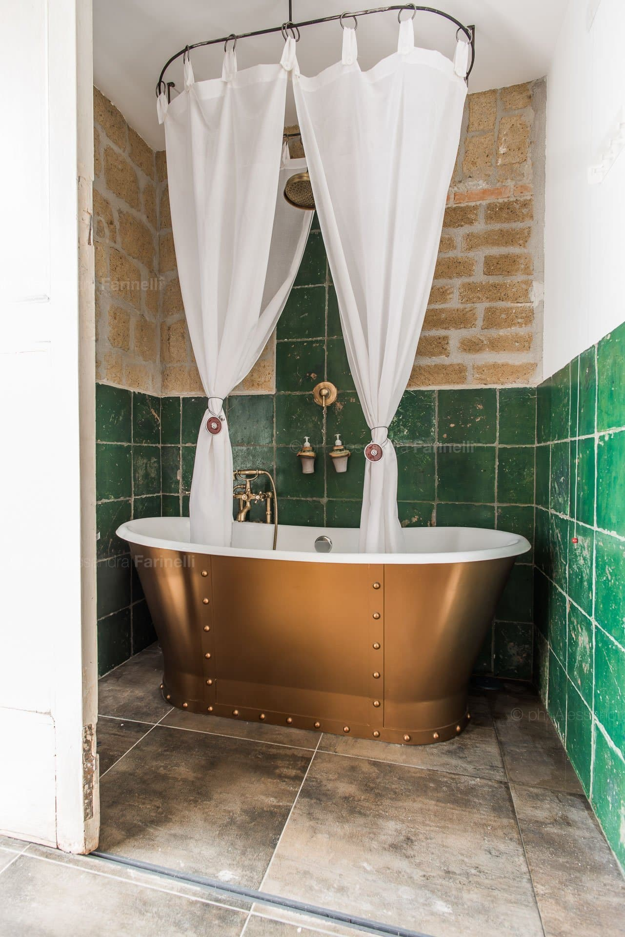 Foto vasca da bagno